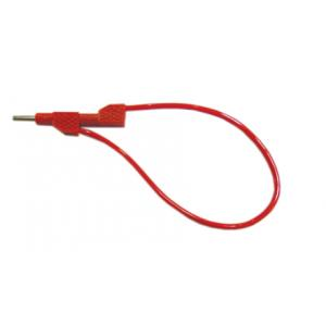 Spare stackable lead with 4mm banana plug, Red, 25cm