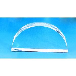 Semicircular Block Glass, 100X18mm