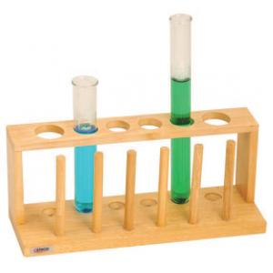 TEST TUBE STAND WITH DRYING PEGS, 12 TUBES
